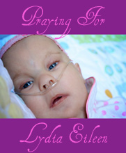 Praying for Lydia